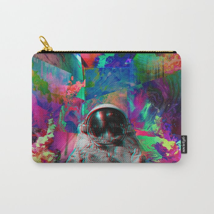 Tripping Space Man Carry-All Pouch