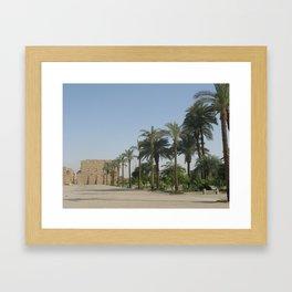 Temple of Karnak at Egypt, no. 3 Framed Art Print