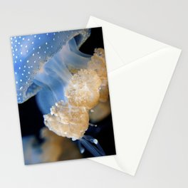 Underwater Macrophotography - Jellyfish Stationery Cards