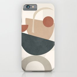 Minimal Shapes No.31 iPhone Case