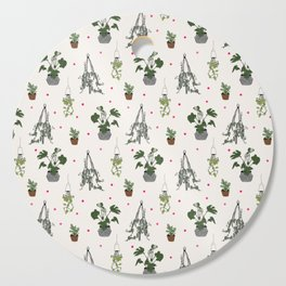 Plants Cutting Board