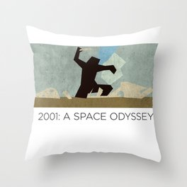 Minimalist 2001: A space odyssey (2) Throw Pillow
