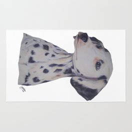 Dalmatian Dog Rug