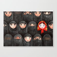 RUSSIAN IN ARABIC WORLD Canvas Print