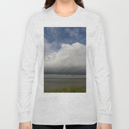 Clouds Over The Marsh Long Sleeve T-shirt