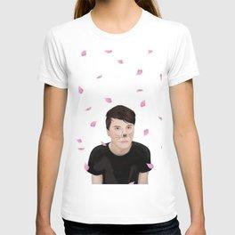 Cherry Blossom Dan Howell (danisnotonfire) T-shirt