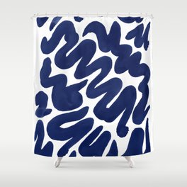 Bold is more Shower Curtain