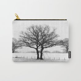 Three Winter Oaks Carry-All Pouch