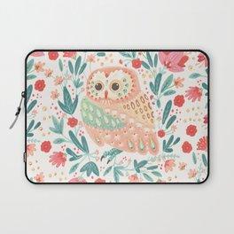 Little Pink Owl Laptop Sleeve