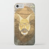 kangaroo iPhone & iPod Cases featuring Kangaroo by Janice