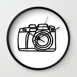 Camera shot Wall Clock