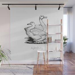 Aylesbury Duck | Animal Art Design Wall Mural