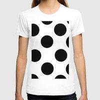 polka dot T-shirts featuring Polka Dot by JiaMiin Berglund