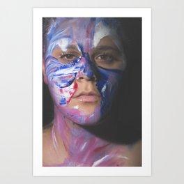 Colors of Women, T.F. Art Print