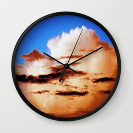 Sunset #199 Wall Clock
