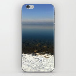 Lake Constance in February iPhone Skin