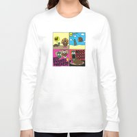 thanksgiving Long Sleeve T-shirts featuring Thanksgiving by Chris Piascik