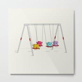 Mood Swings Metal Print