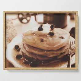 Pancakes from the past Serving Tray