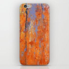 Orange Crush iPhone Skin