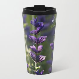 Purple Bow Ties Travel Mug