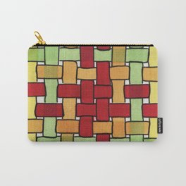 Warm Woven Carry-All Pouch