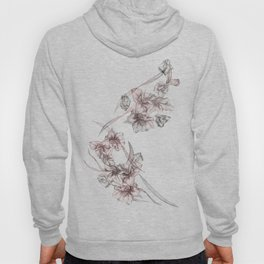 Crystalized Florals Hoody
