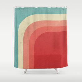 Retro Watermelon Shower Curtain