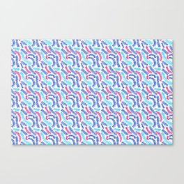 Infinite Squiggles Canvas Print
