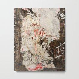 PALIMPSEST, No. 16 Metal Print