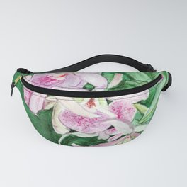 Orchid Cascade Fanny Pack