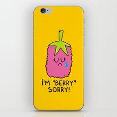 I'm berry sorry iPhone & iPod Skin