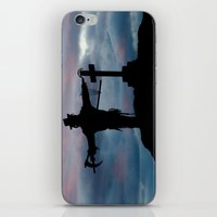 dark souls iPhone & iPod Skins featuring Harvesting souls by PICSL8