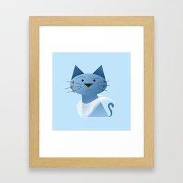 animaligon - Cat Framed Art Print