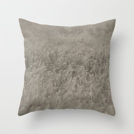 Field Recording Throw Pillow