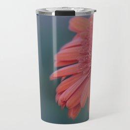 Macro photo of Gerbera flower 5 Travel Mug