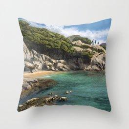 Crique Throw Pillow