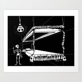 Recamaraverita Art Print