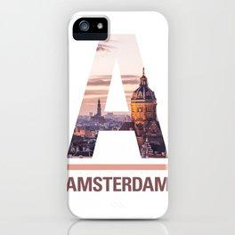 A-msterdam iPhone Case