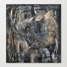Schooling de Kooning Canvas Print