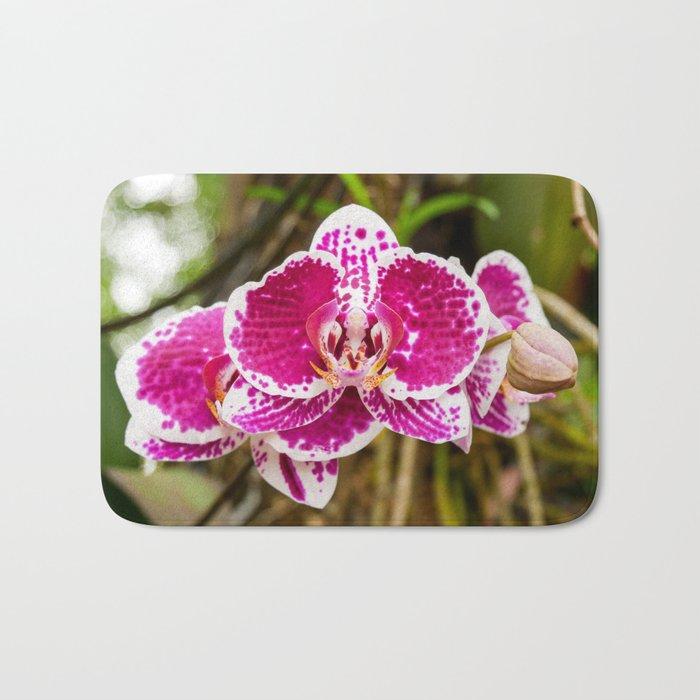Thai Orchids Bath Mat
