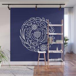 Flower medallion Wall Mural
