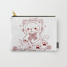 The Adventures of Bear and Baby Bear-Cats Carry-All Pouch
