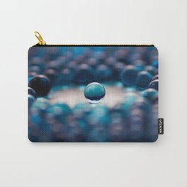 Blue Glass Balls Carry-All Pouch