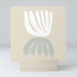 Botanical Mirror Sage Mini Art Print