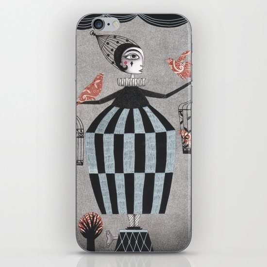 The Bird Act iPhone & iPod Skin