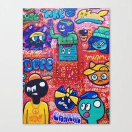 Wynwood Colorful Canvas Print