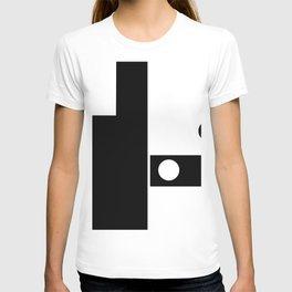 Minimal Black and White T-shirt