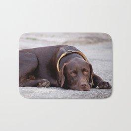 the hound dog Bath Mat
