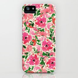 Red Rose Bouquet iPhone Case
